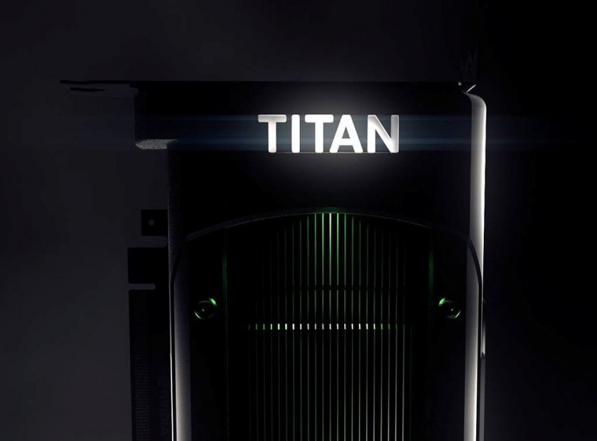 TITAN X logo backlight