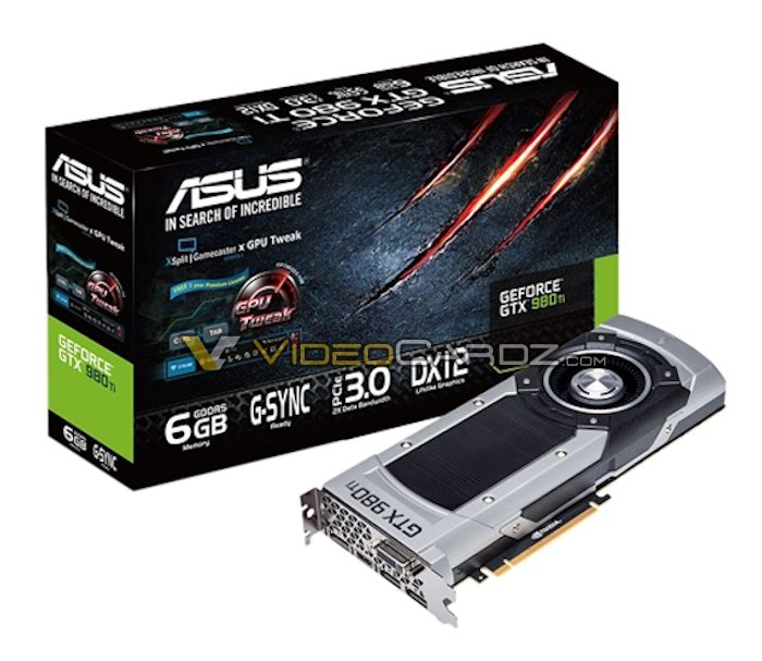 ASUS GeForce GTX 980 Ti