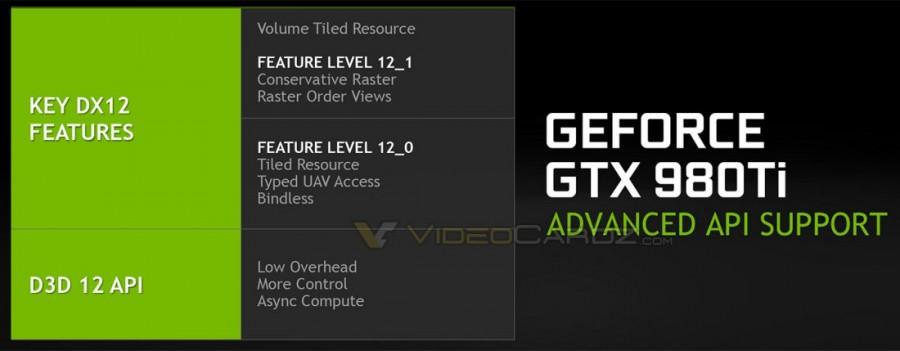 NVIDIA GTX 980 TI DX12