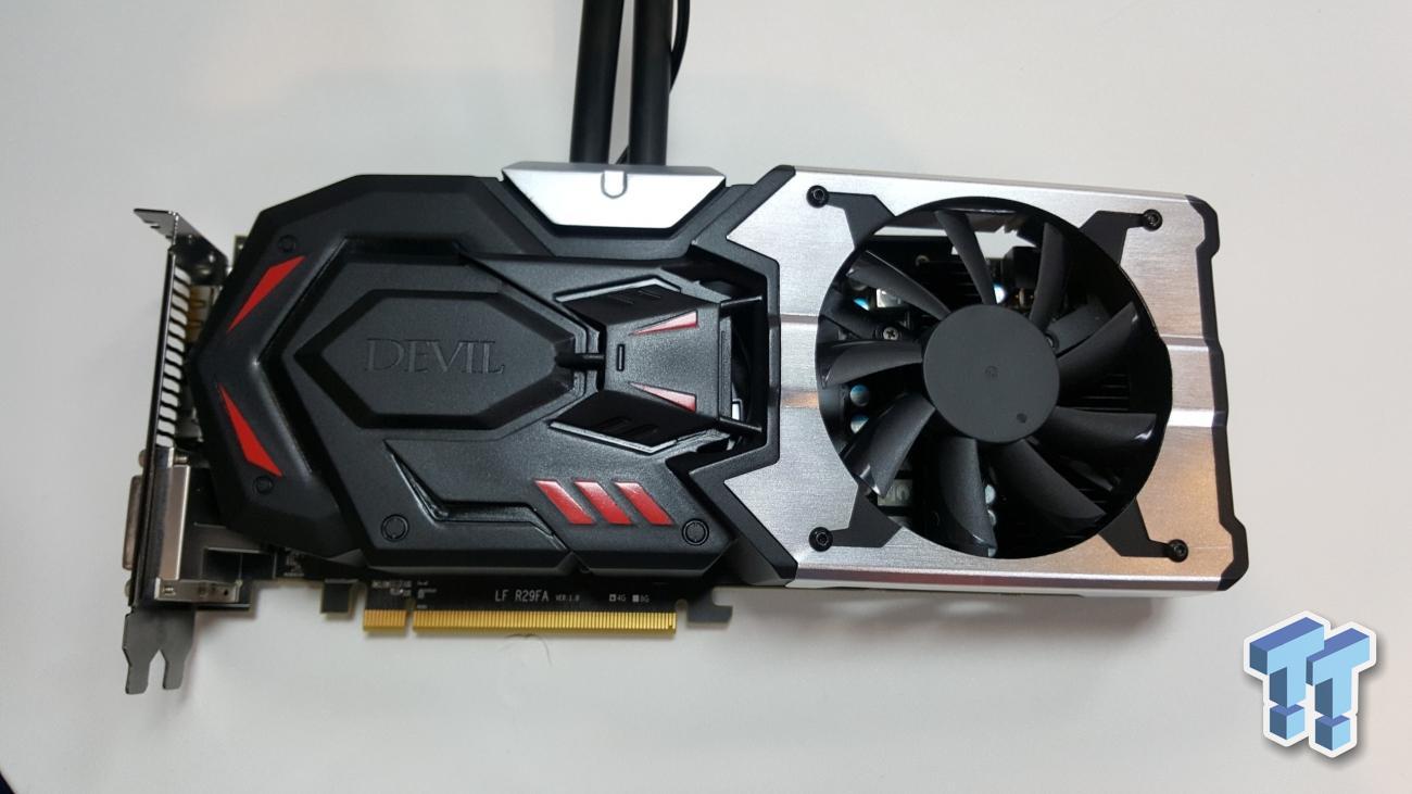 Powercolor Radeon R9 390X DEVIL pictured | VideoCardz com