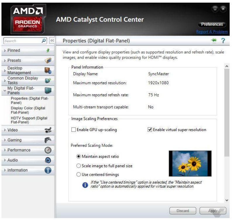 AMD Fury X VSR
