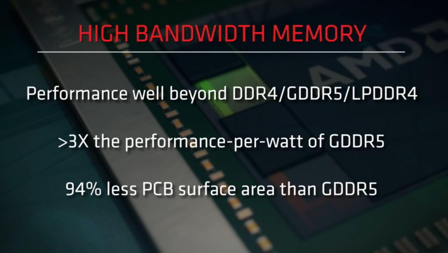 AMD HBM specs
