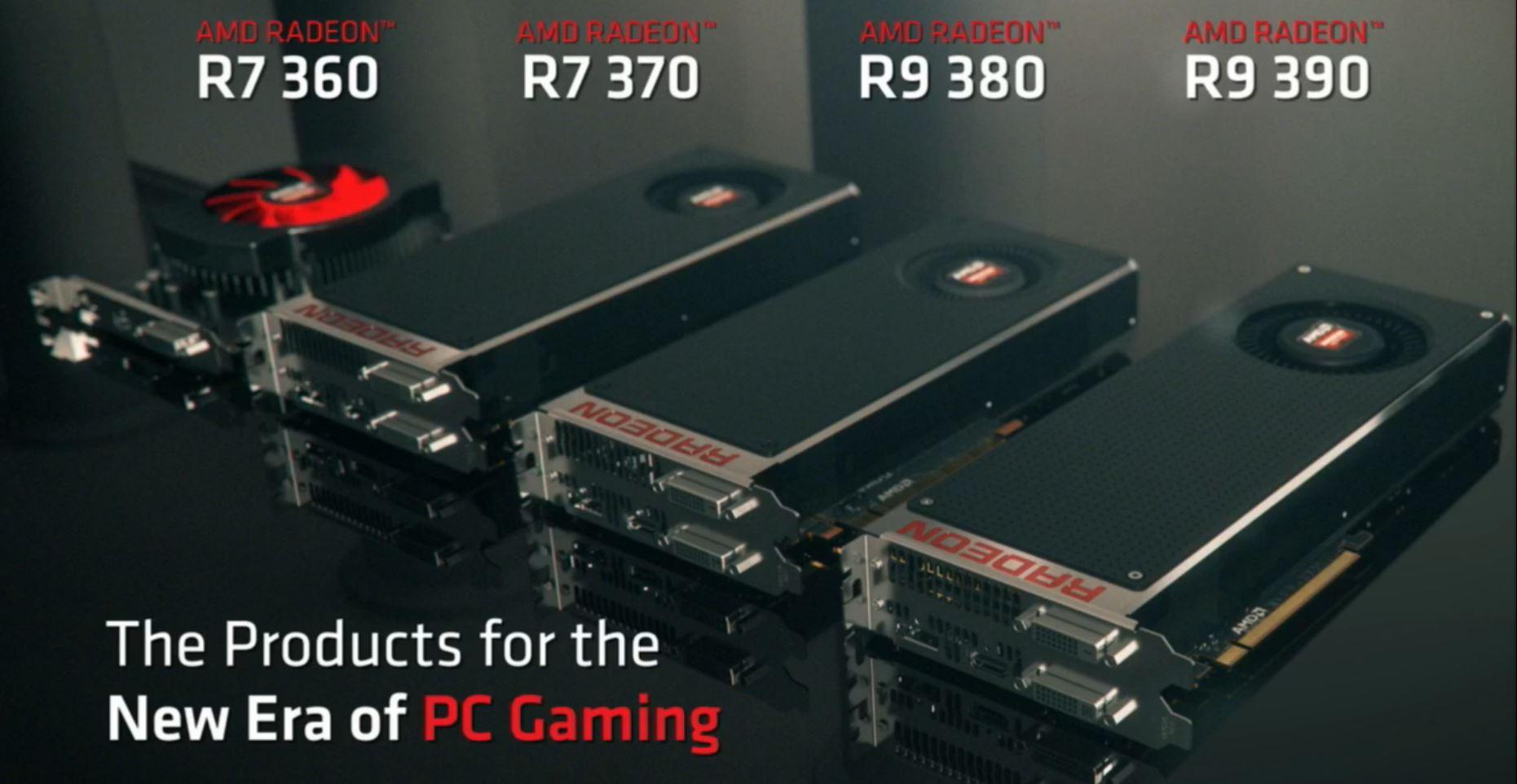 Amd Announces Radeon 300 Series And Radeon R9 Fury Videocardz Com