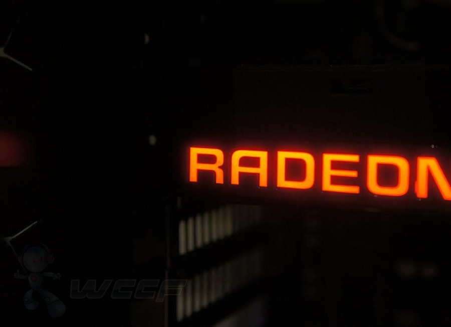 AMD Radeon Fury X Logo Light