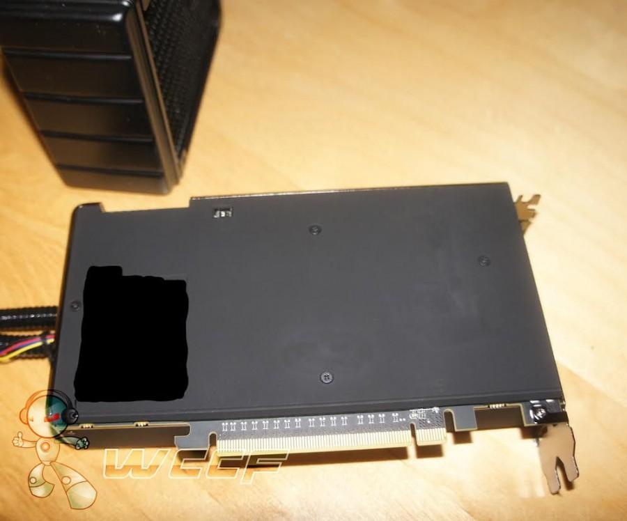 AMD Radeon Fury X backplate