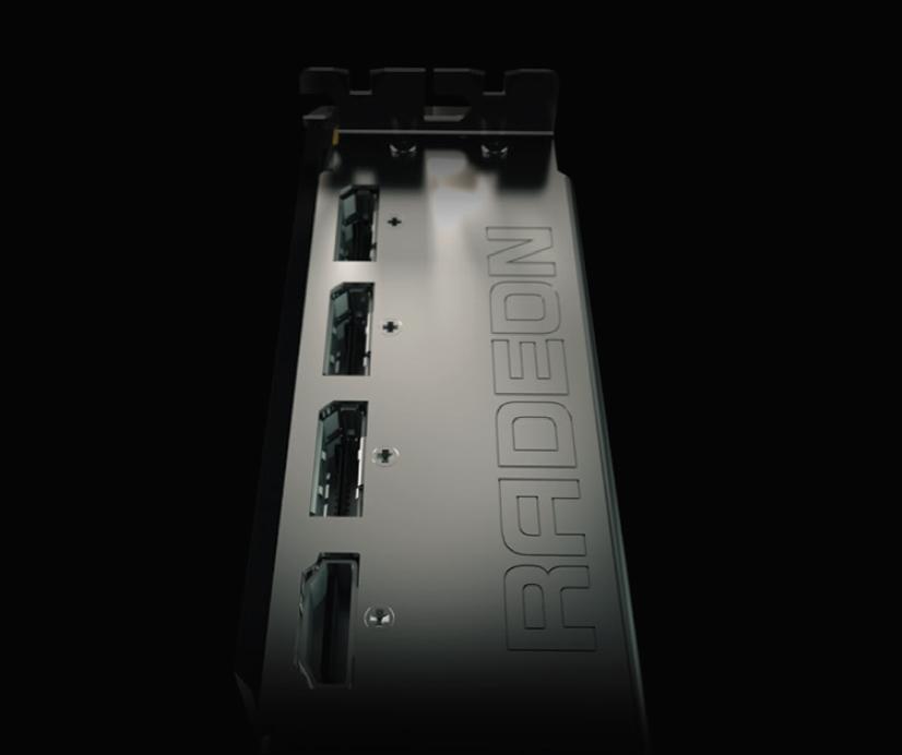 AMD Radeon Fury X display connectors
