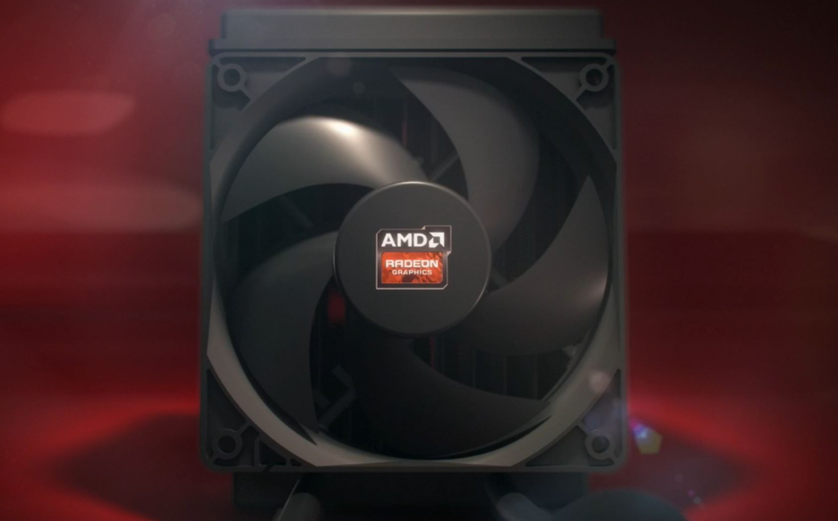 AMD Radeon Fury radiator