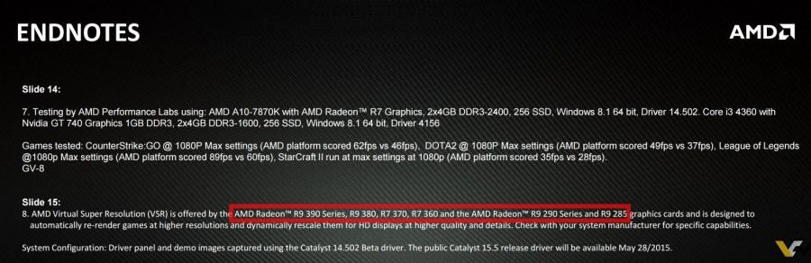 AMD Virtual Super Resolution May 2015 Radeon 300