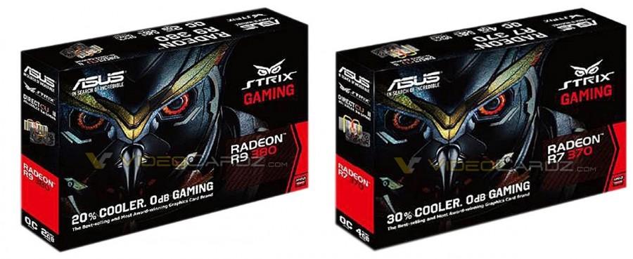 ASUS STRIX R9 380 R7 370