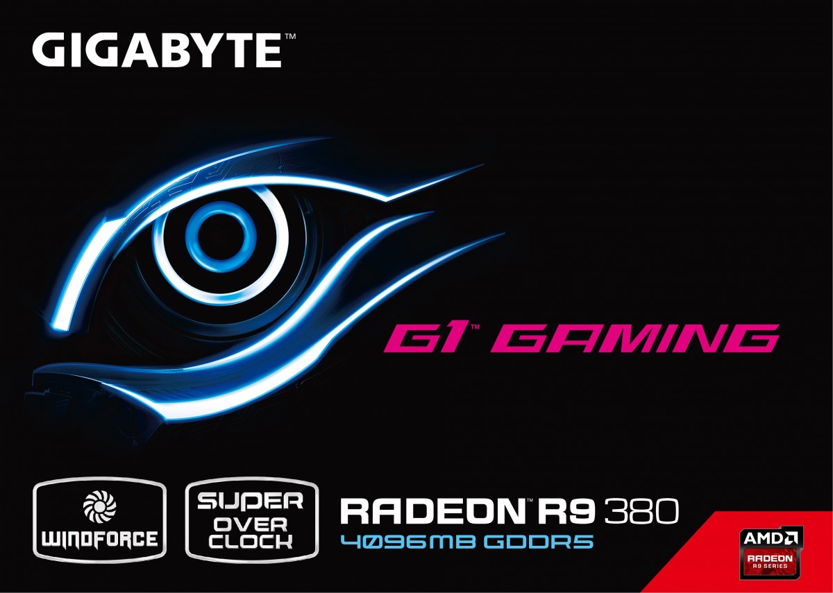 Gigabyte Radeon R9 380 G1 GAMING marketing materials leak