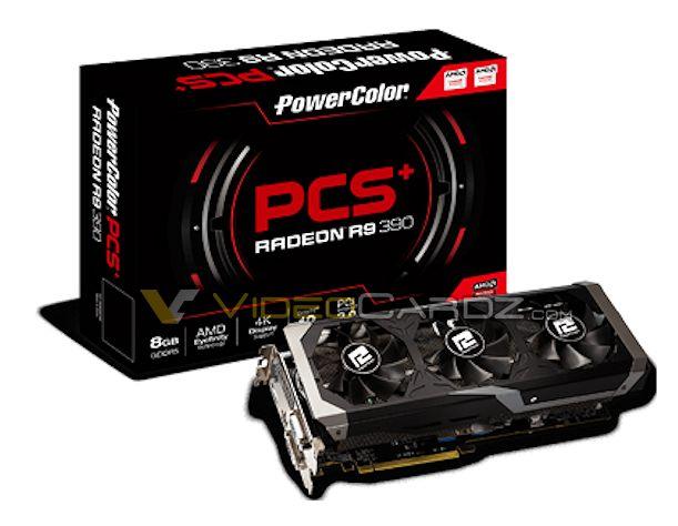 PowerColor R9 390 PCSPLUS