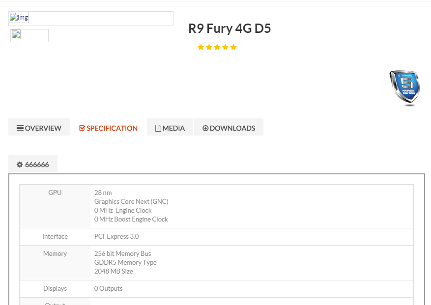 Radeon R9 Fury 4G