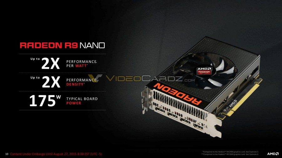 AMD Radeon R9 Nano Presentation 10