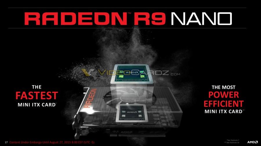 AMD Radeon R9 Nano Presentation 17