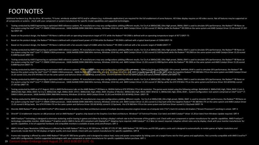 AMD Radeon R9 Nano Presentation 19