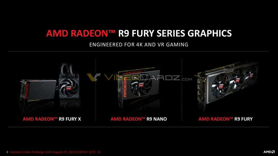 AMD Radeon R9 Nano Presentation 2