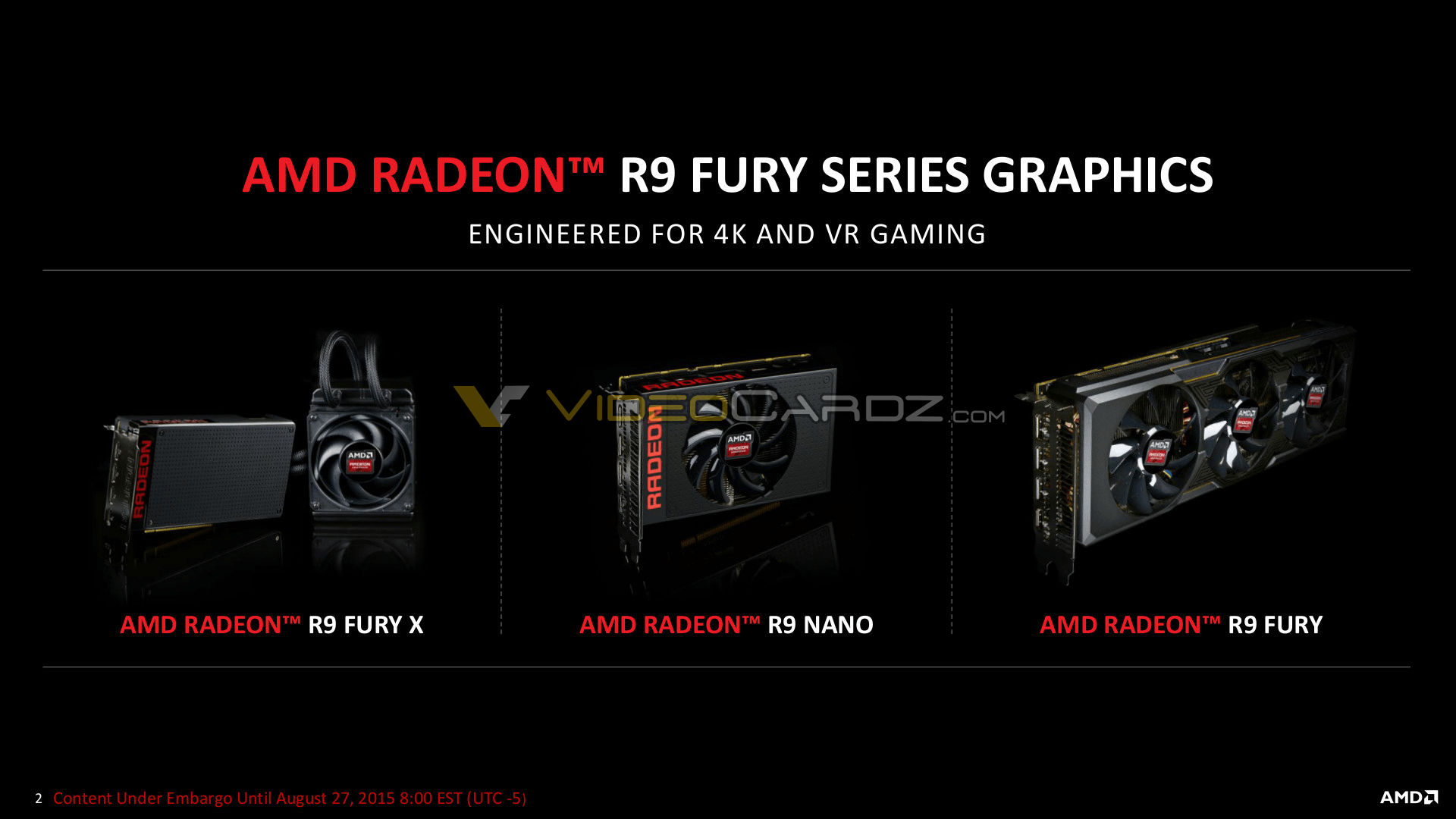 AMD launches Radeon R9 Nano | VideoCardz com