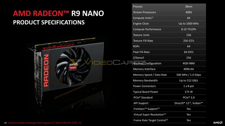 AMD Radeon R9 Nano Presentation 20