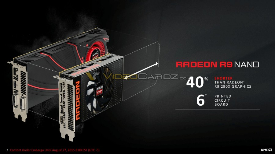 AMD Radeon R9 Nano Presentation 3