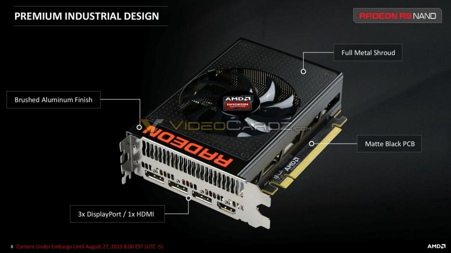 AMD Radeon R9 Nano Presentation 8