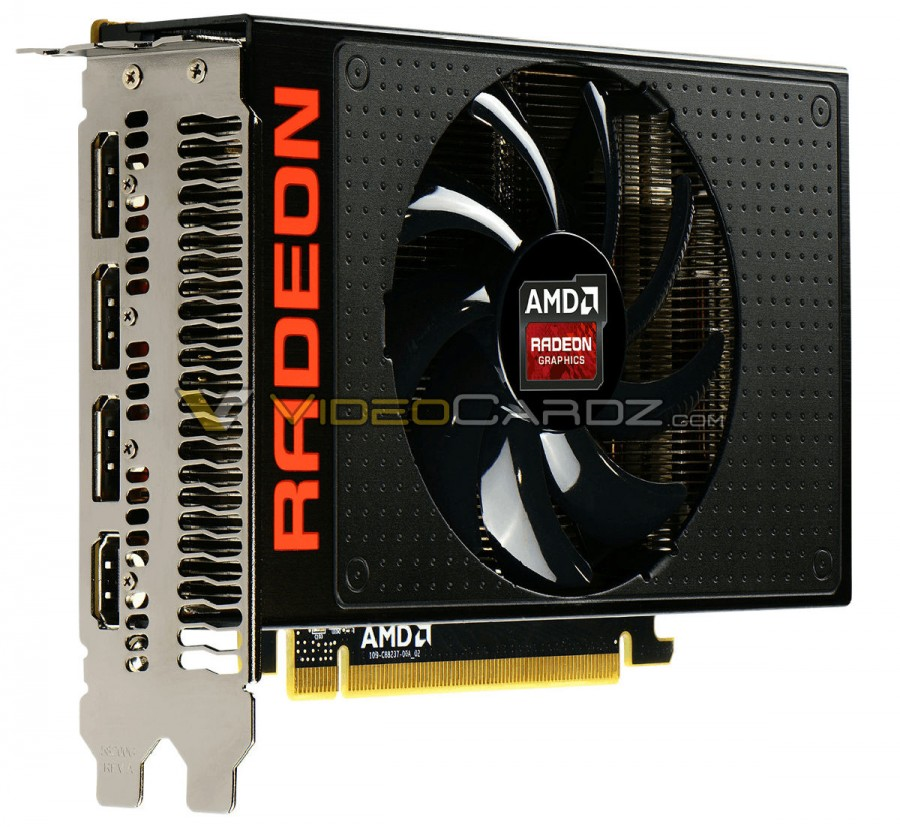 AMD Radeon R9 Nano display connectors