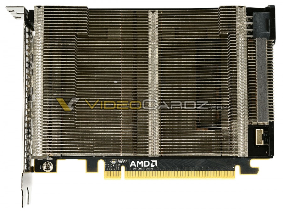AMD Radeon R9 Nano heat sink