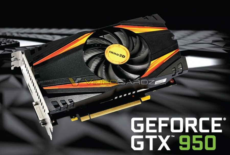 Inno3D GTX 950 singlefan