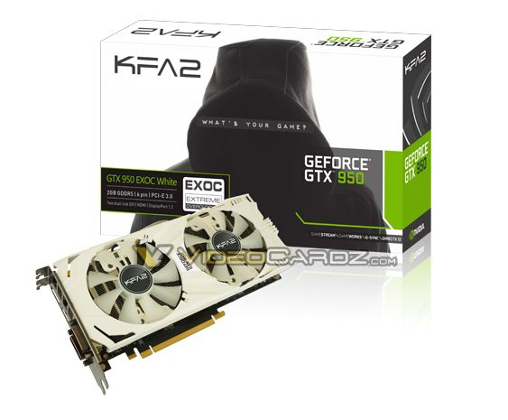 KFA2 GTX950 EXOC White