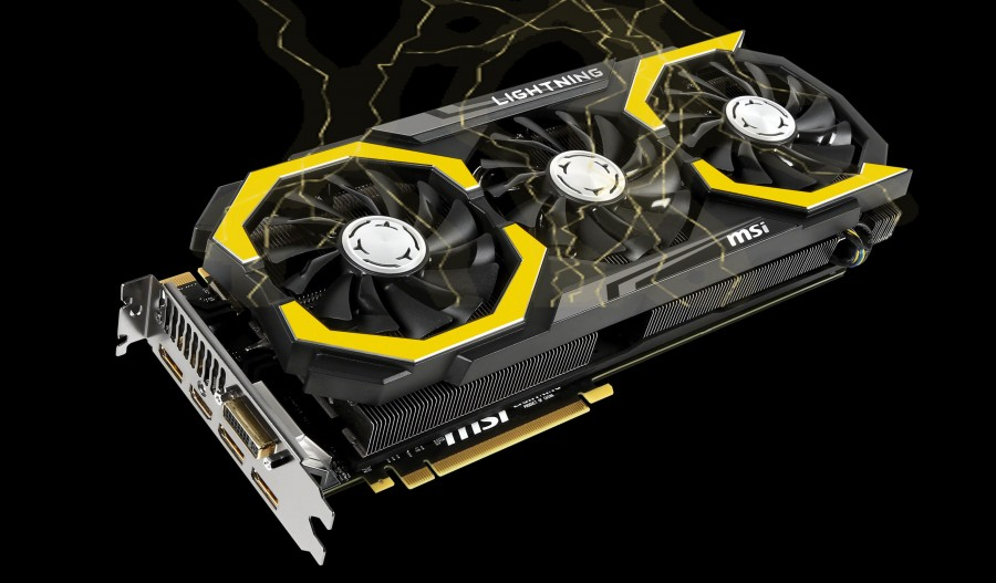 MSI GTX 980 Ti Lightning black