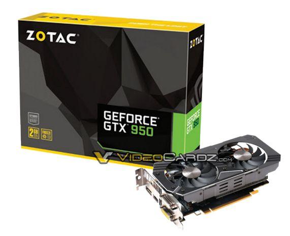ZOTAC GTX 950 OC