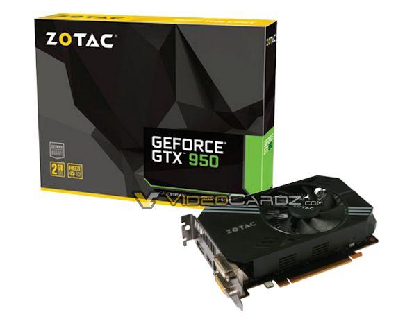 ZOTAC GTX 950 SingleFan