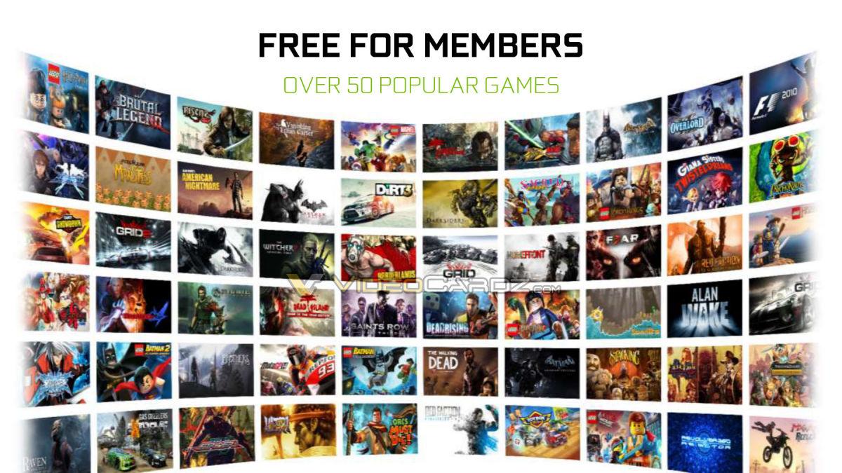 GeForce NOW Free games