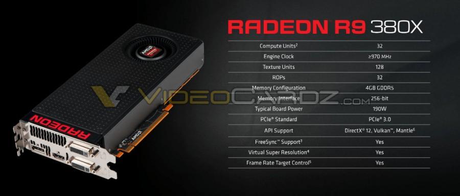 AMD Radeon R9 380X 4
