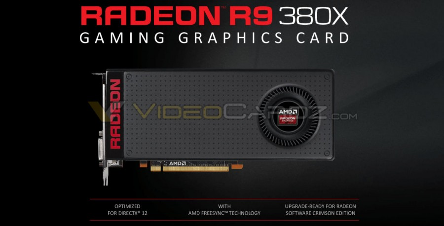AMD Radeon R9 380X 8