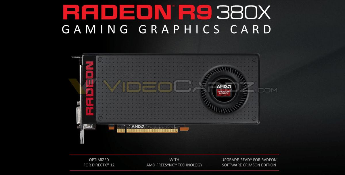 AMD launches Radeon R9 380X   VideoCardz com