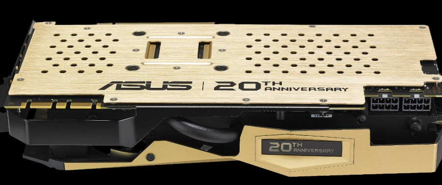 ASUS introduces GeForce GTX 980 20th Anniversay Gold Edition (1)