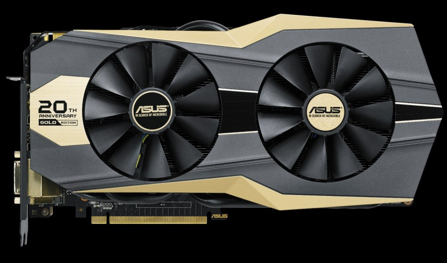 ASUS introduces GeForce GTX 980 20th Anniversay Gold Edition (2)