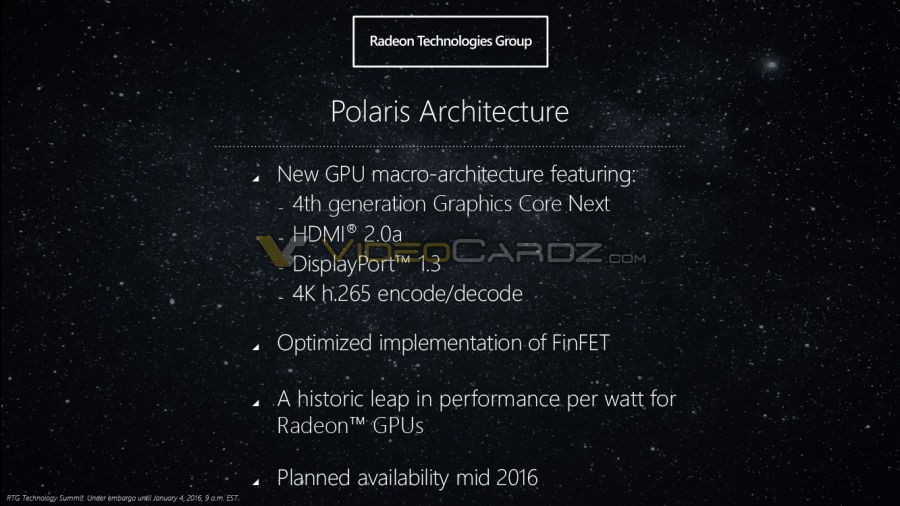 AMD Polaris Architecture 9