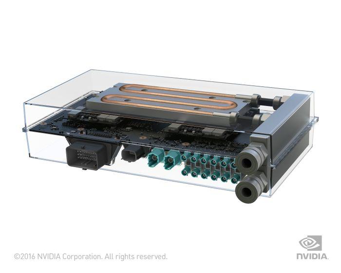 NVIDIA DRIVE PX 2 Self Driving Car Supercomputer