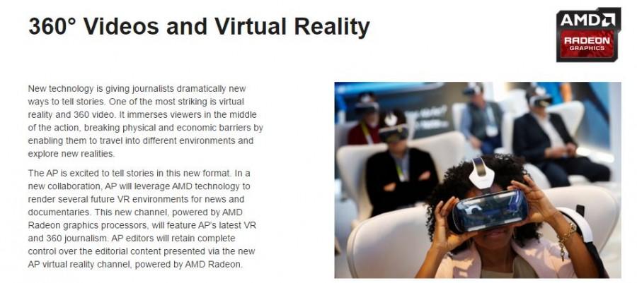 AMD VR Journalism