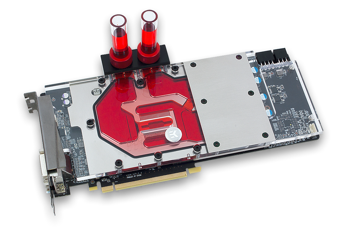 EK releases full-cover water block for MSI Radeon R9 390X GAMING 8G
