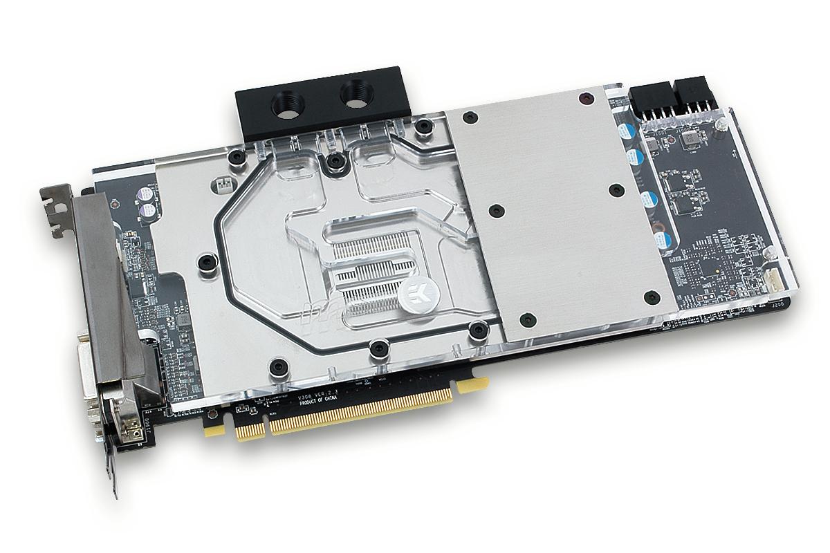 EK releases full-cover water block for MSI Radeon R9 390X