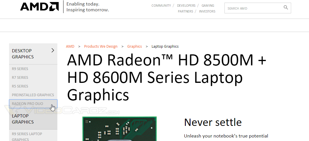 AMD Radeon Pro Duo AMD Website