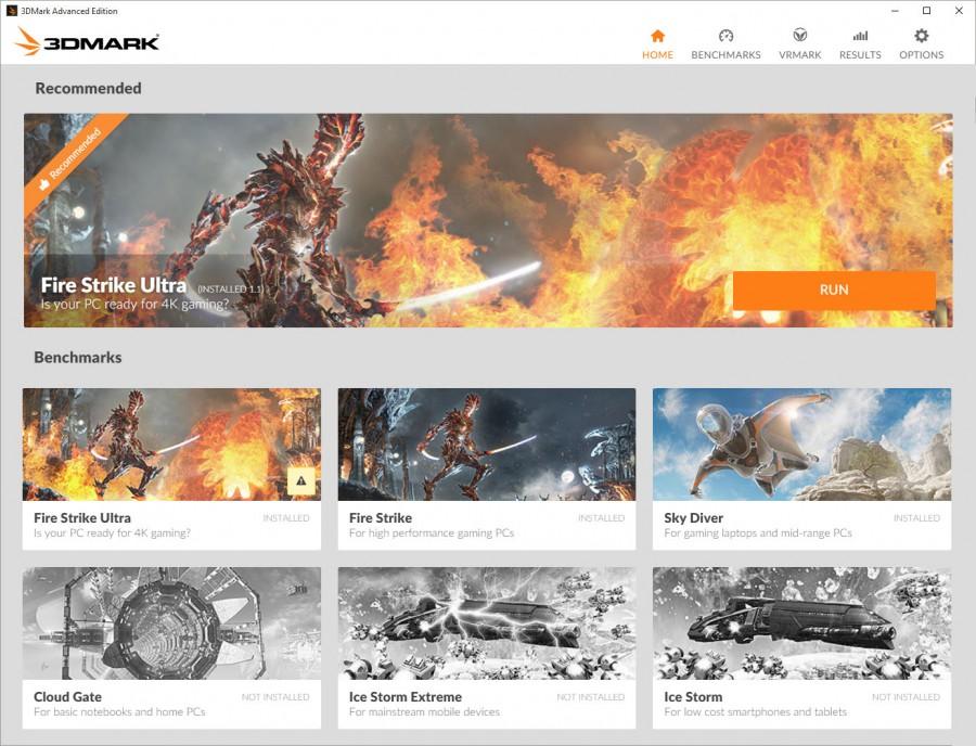 3DMark redesign