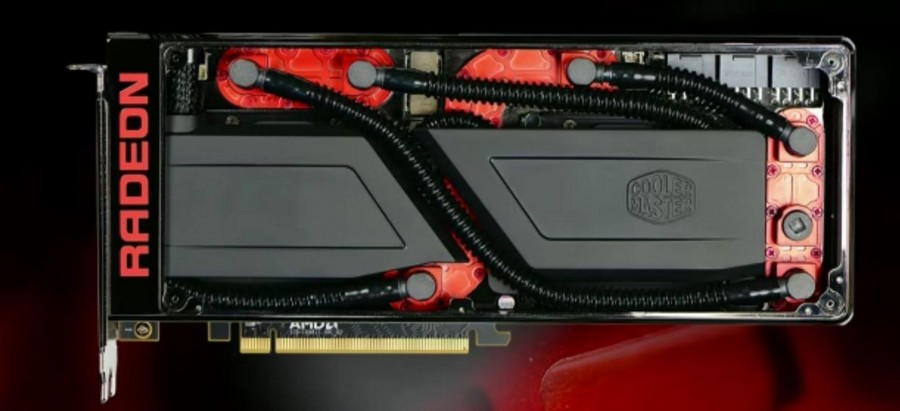AMD Radeon Pro Duo CoolerMaster Cooling Solution