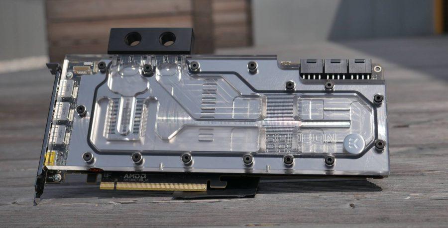 EKWB Radeon Pro Duo Water Block