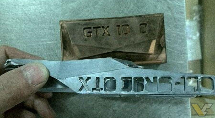 NVIDIA GTX 1080 GTX 1070 cooler GTX logo