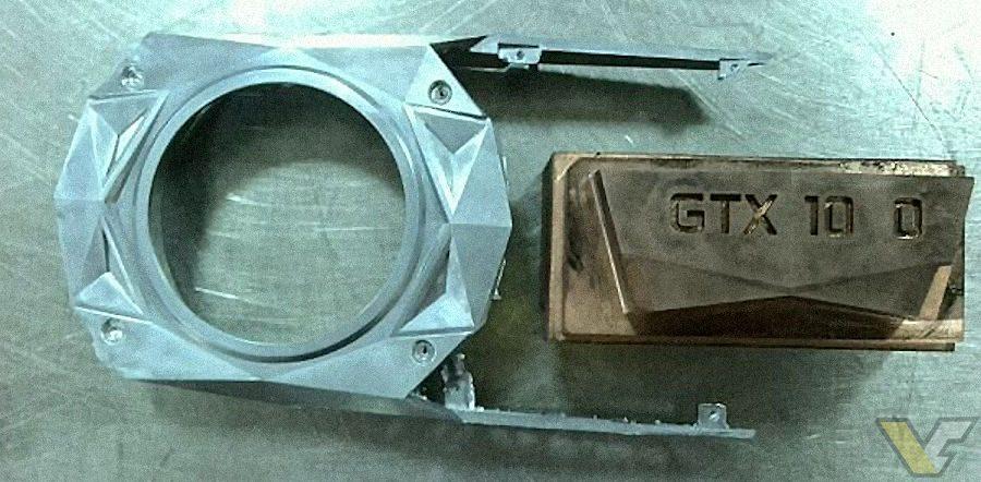 NVIDIA GTX 1080 GTX 1070 cooler NVIDIA logo