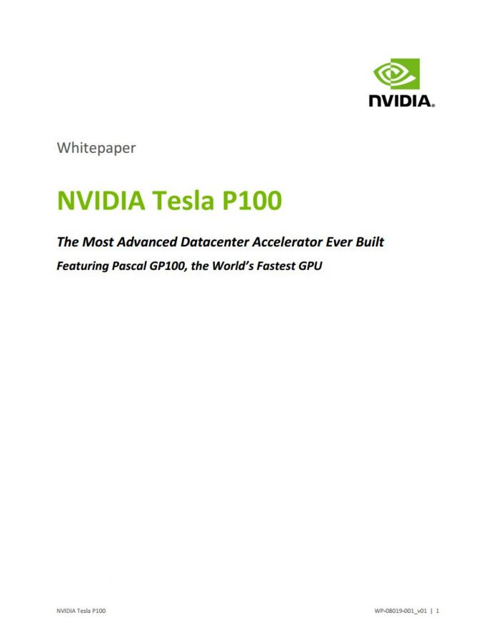 NVIDIA Pascal Architecture Whitepaper (2)