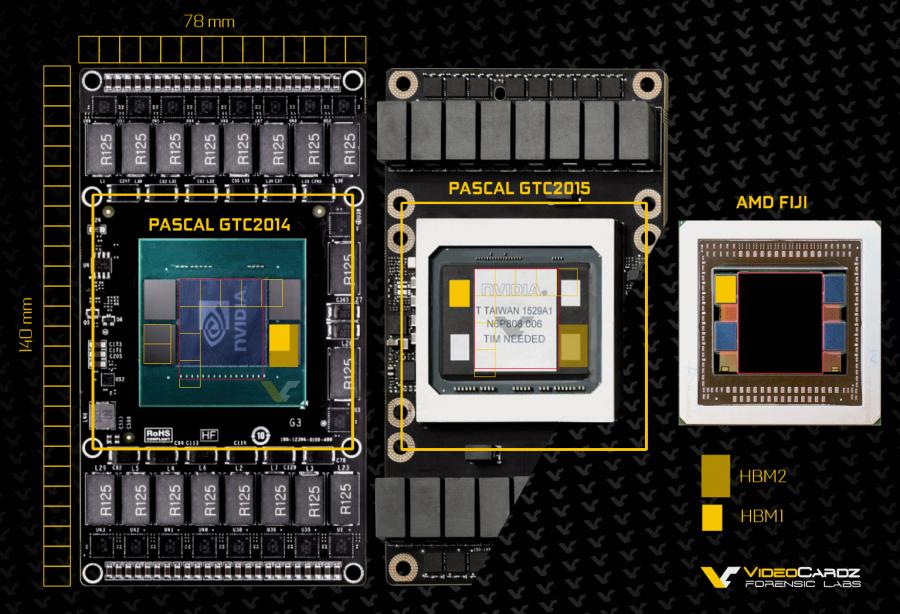 NVIDIA Pascal GTC Prototypes